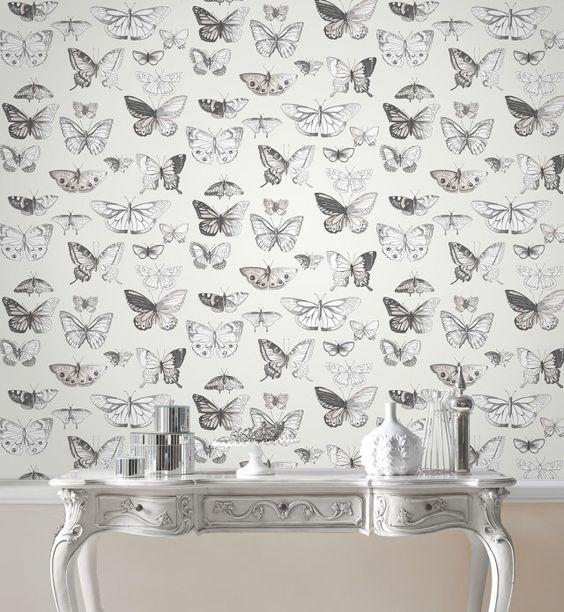 Papier peint Butterflies - Graham & Brown