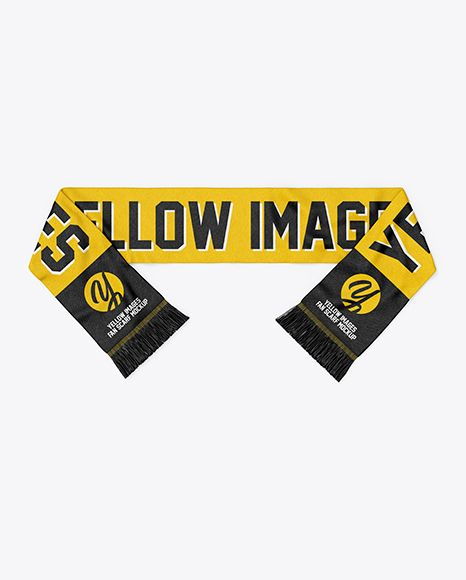 Download Fan Scarf Mockup Top View In Apparel Mockups On Yellow Images Object Mockups Design Mockup Free Free Psd Mockups Templates Free Packaging Mockup