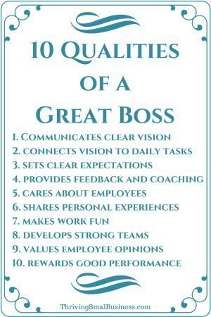 A Good Boss Does A Great Job Of Communicating Encouraging And Supporting Employees In Their Work The Mentor And Coac Good Boss Business Leadership Leadership