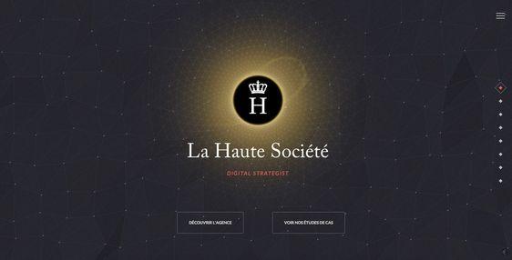 LA HAUTE SOCIETE - Site of the Day March 06 2015 http://www.lahautesociete.com/