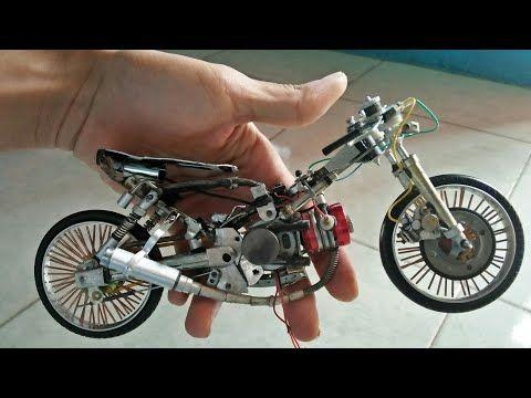 Miniatur Motor Drag Jaman Now Youtube Motor Motorcycle Battery Powered Car