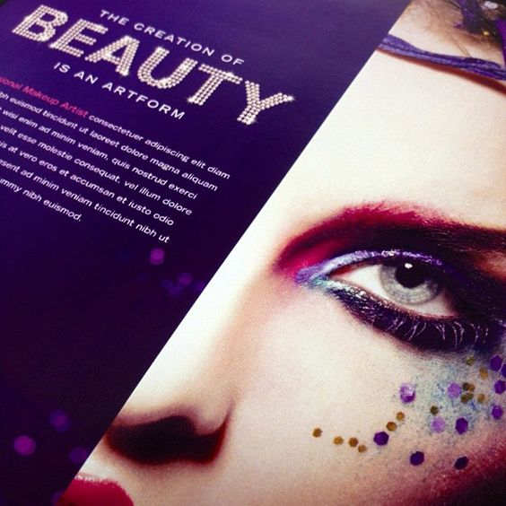 Makeup Artist Flyer & Ad Template by StockLayouts. View more ...