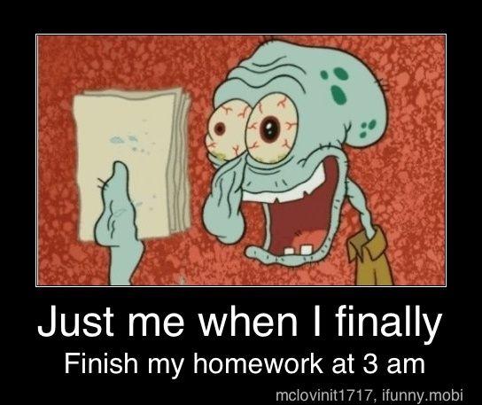 Kill homework