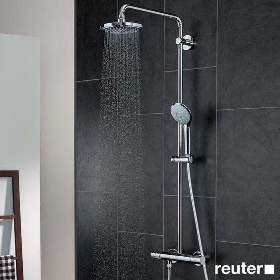Grohe Euphoria Duschsystem für die Wandmontage mit Brausearm 450 mm - 27296001 | Reuter Onlineshop