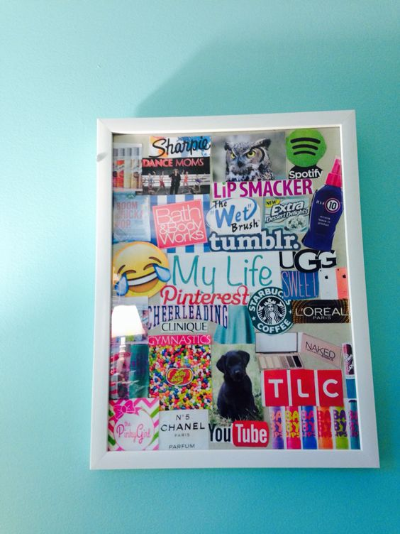 Just finished this cute DIY from a video made by Alisha Marie !!!!