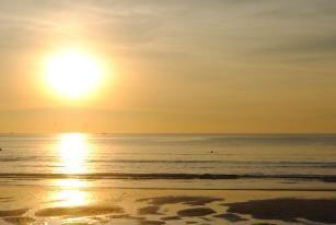 Sunset in Kata Noi beach