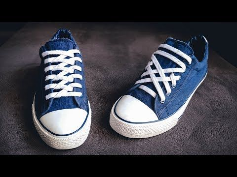 Shoe laces, Ways to lace shoes, Sneakers