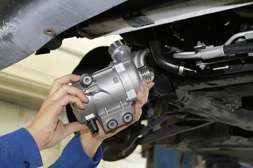 Water Pump Repair Replacement Performed By A Mechanics Mobile Mechanic Water Pumps Truck Repair