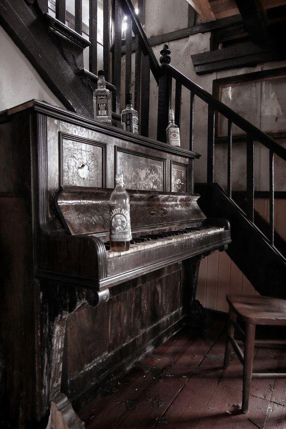 Alguém tem um piano?