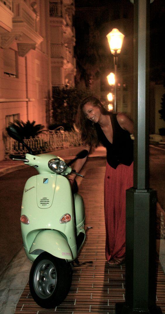Midnight stroll in Monte-Carlo