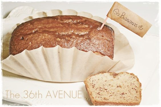 Best Banana Bread EVER. It has an almond orange glaze that it is to die for. the36thavenue.com  #recipe #bread