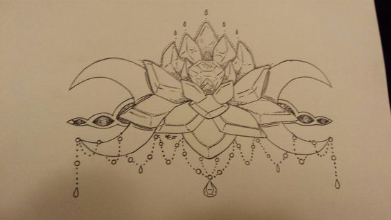 """himurahotaru: """" Another kind of tattoo idea for myself. Or at least something similar. Silver Imperium Crystal from sailor moon. I'd definitely want it in like a mandala style if possible. Its a Lil..."""