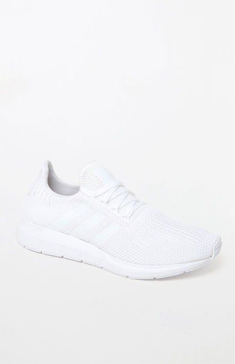 adidas Swift Run White Shoes | Zapatos adolescentes, Zapatos ...