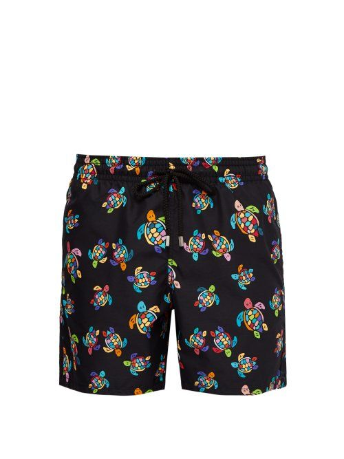 Turtle Mens Beach Board Shorts Quick Dry Summer Casual Swimming Soft Fabric with Pocket