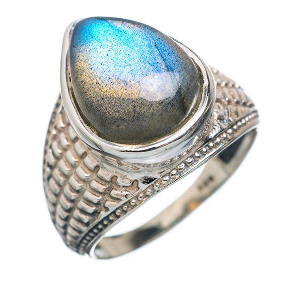 Labradorite 925 Sterling Silver Ring Size 6.25 RING727455