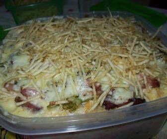 Receita de Batata recheada de frango e brócolis - Show de Receitas