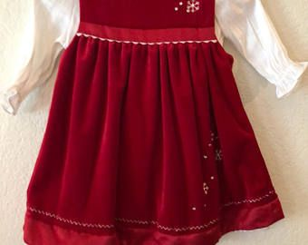 Beautiful Velvet 12 Month Baby Christmas Dress Ragzbymagz Christmas Dress Baby Dresses Christmas Dress