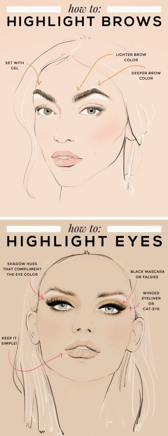 Highlighting Eyebrows http://Www.facebook.com/lisamkstyle