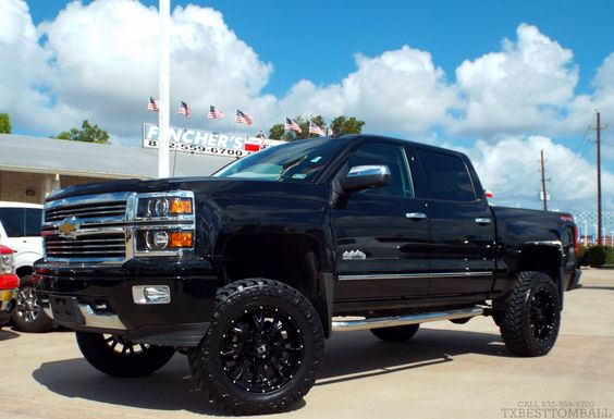 just in    nice truck lifted up      2014 chevrolet silverado 1500 ltz crew cab 4x4 truck for
