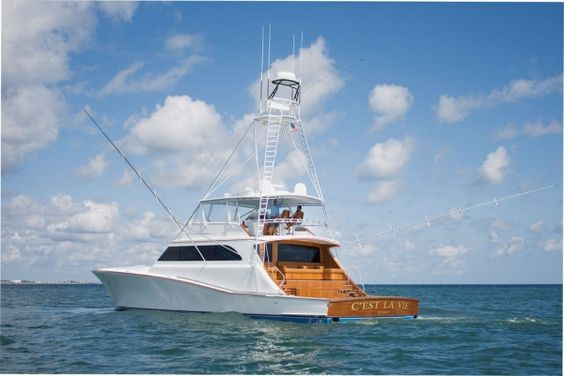 American custom yachts inc since 1992 when dominick for Sport fishing boats