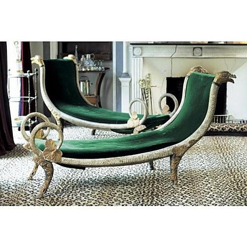 Madeleine Castaing chaises. wow!