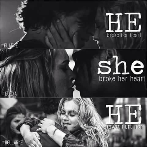 Bellamy And Clarke Kiss