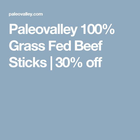 Paleovalley 100 Grass Fed Beef Sticks 30 Off Beef Sticks Grass Fed Beef Healthy Food Shop