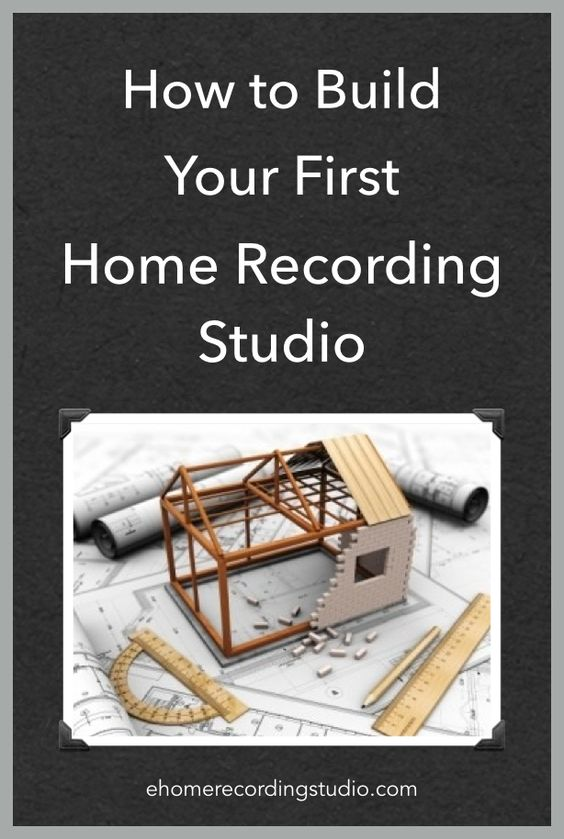 Super How To Build Your First Home Recording Studio Today Largest Home Design Picture Inspirations Pitcheantrous