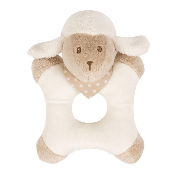 Ringrattle sheep - #baby #bebe #doudou #knuffel #knuffelbeer #cuddlytoy #kuscheltier #nattou #papa #mama #mom #dad #father #mother #parents #maman #grossesse #zwanger #pregnant #pregnancy #zwangerschap #enceinte #cuddly #peluche #plush #Plusch #schwanger #geboorte #geburt #birth #naissance #vater #eltern #mutter #ragdoll #cuddly #toy #cadeau #gift #geschenk #schaap #scheep #mouton #schaf #wit #white #blanc #weiss #beige