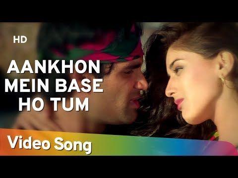 Aankhon Mein Base Ho Tum Duet Sunil Shetty Sonali Bendre Takkar Bollywood Songs Abhijeet Youtube In 2020 Songs Bollywood Songs Duet