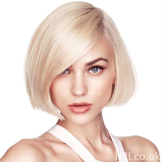 Cortes de pelo para la cara alargada: opción pelo corto, media melena, Opción pelo largo, peinados con flequillo. 32 Fotos.
