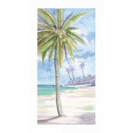 Palm Island I Canvas Art - Paul Brent (12 x 18)