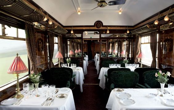 The Venice Simplon Orient Express-'The train against which all other luxury trains are measured' - Vanity Fair