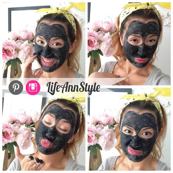 Diy Charcoal Face Mask: DIY Volcanic Acne And Skin Cleansing Face Mask