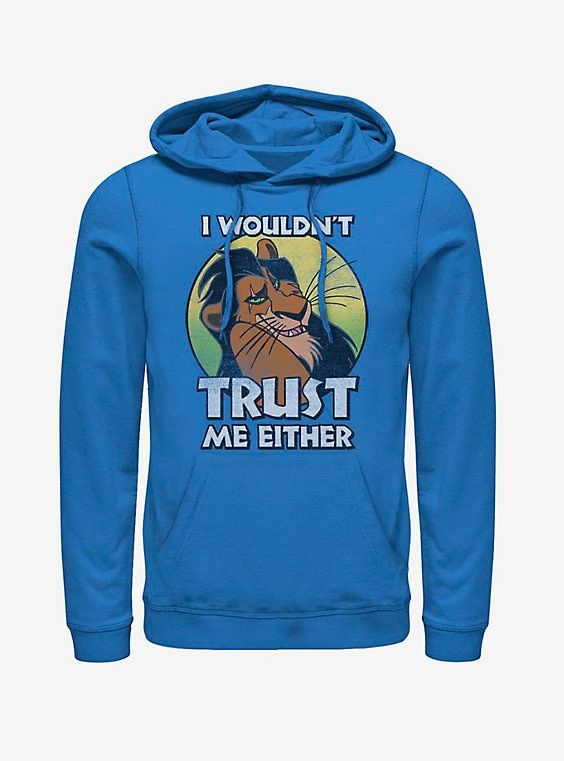 Disney The Lion King Trustworthy Hoodie Lion King Hoodies Disney Lion King