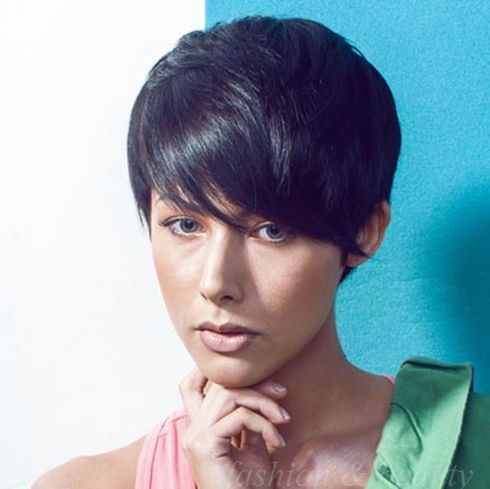short hair style for women