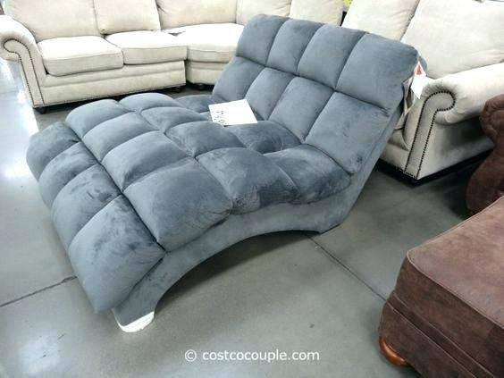 Sleeper Sofa Costco Chaise Lounge Indoor Living Room Decor Furniture Double Chaise Lounge