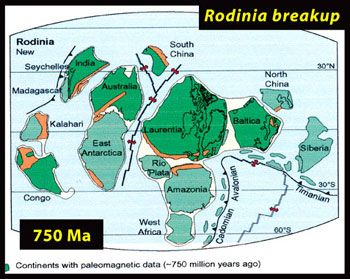 Worksheets Before Pangea, Rodinia Worksheet Answers rodinia continent map as of 6 25 11 by farawayforest 750 million years ago most the continents may have been clustered in tropics