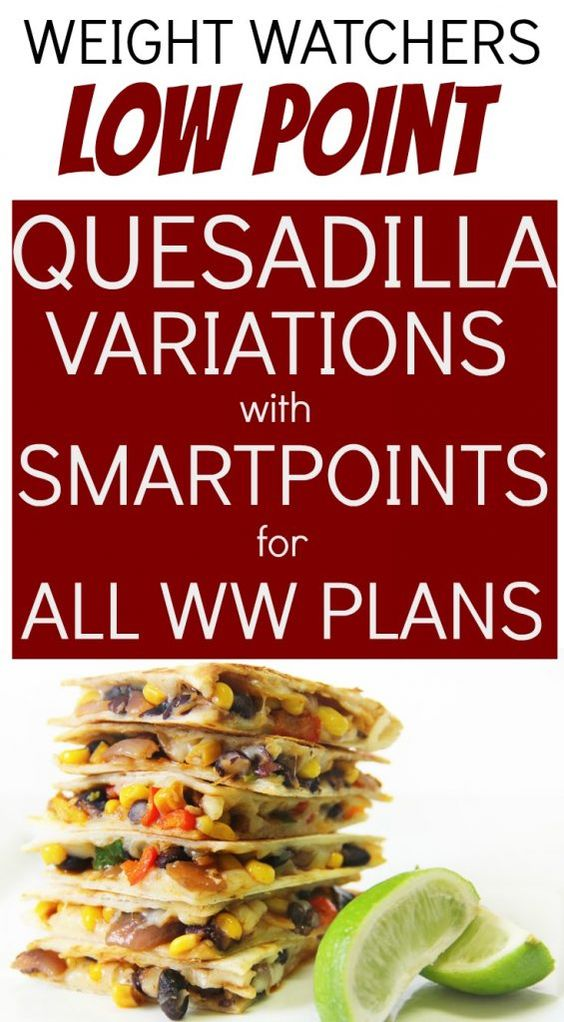 Fantastic Low Point Weight Watchers Quesadillas with SmartPoints