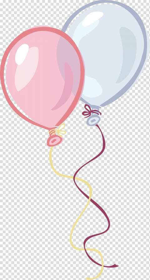18 Balloon White And Pink Icon Png Cinza E Rosa Png Desenho