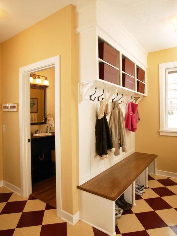 Mudroom Storage Ideas : Interior Remodeling : HGTV Remodels