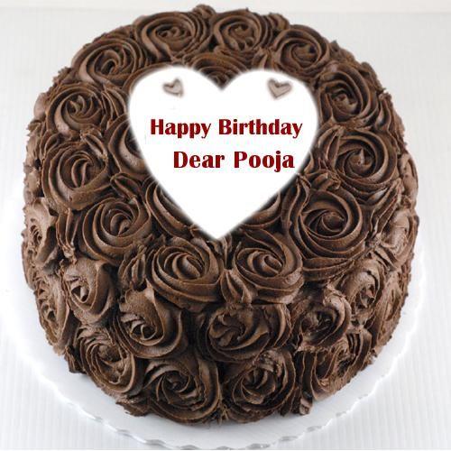 Chocolate Happy Birthday Cake Wishes Name Write Picture Happy