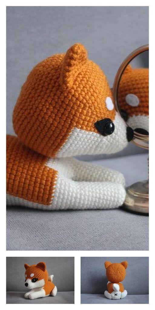 Amigurumi Sweet Dog Free Crochet Pattern | Crochet dog patterns ... | 1024x512