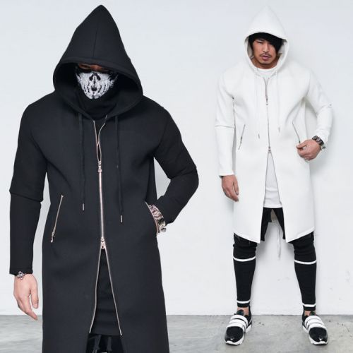 Collection Long Jacket With Hood Pictures - Reikian