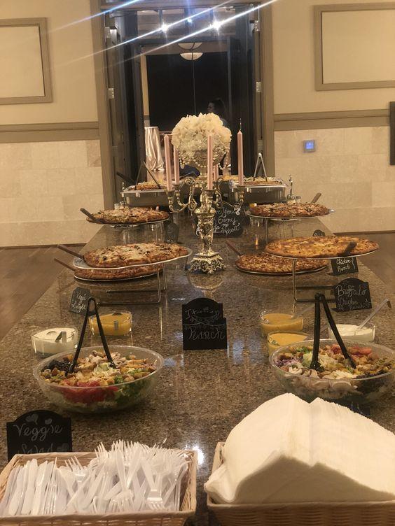 Noah S Louisville Kentucky Event Venues Company Christmas Party Pizza Buffet