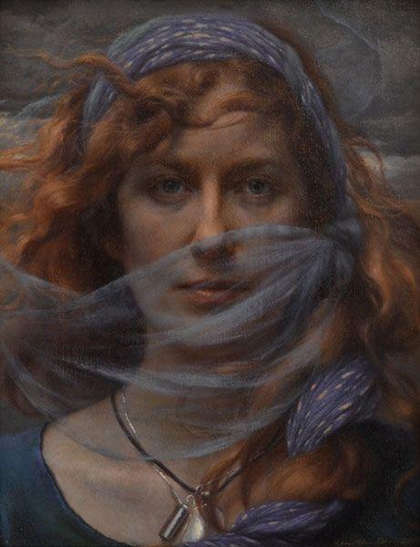 Ann Long Fine Art - Charleston, SC Kamille Corry Tear in the Wind: