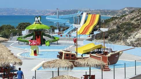 Kos family holiday blue lagoon village