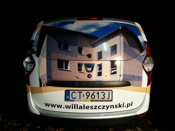 willaleszczynski.pl - projekt i oklejenie auta