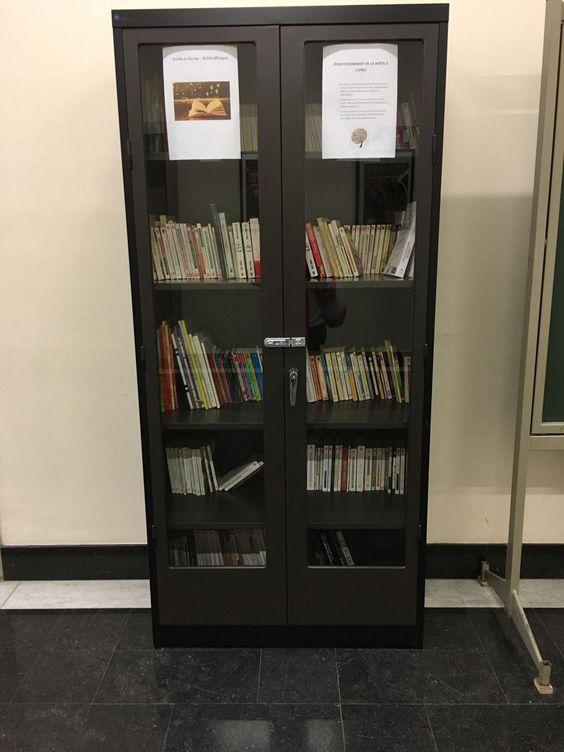 Boîte à livres Charleroi 7