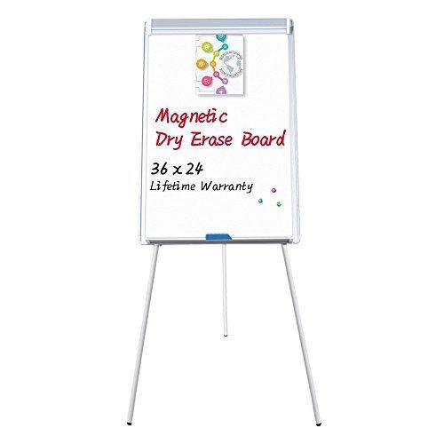 Easel White Board Magnetic Tripod Whiteboard Portable Dry Erase Board 36x24 Inches Flipchart Easel Board Height A Dry Erase Board Dry Erase Height Adjustable